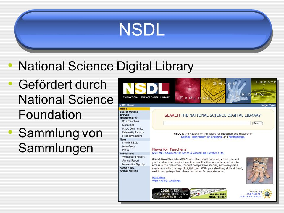 NSDL National Science Digital Library