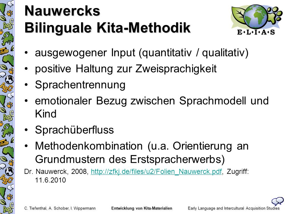 Nauwercks Bilinguale Kita-Methodik