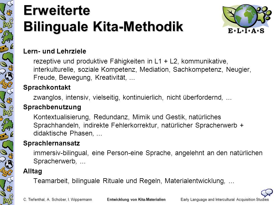 Erweiterte Bilinguale Kita-Methodik