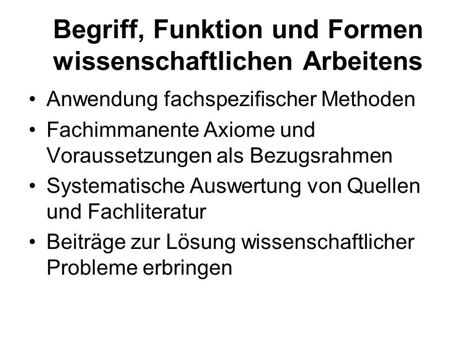 Wissenschaftliches Arbeiten als Arbeitsprozess - ppt video online ...