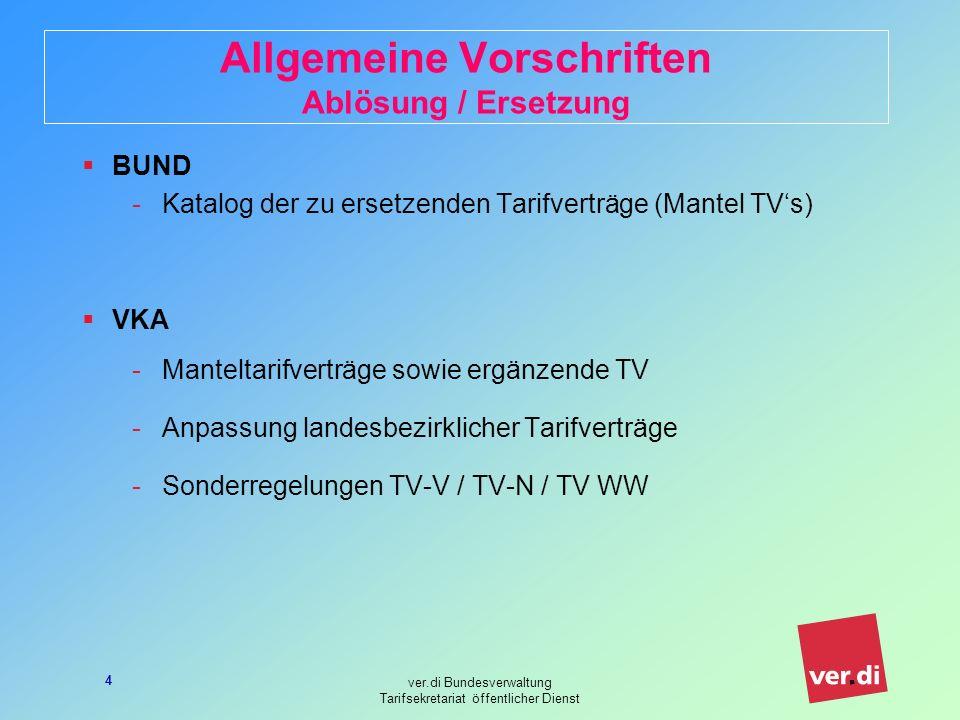 Tarifvertrag mantel tv