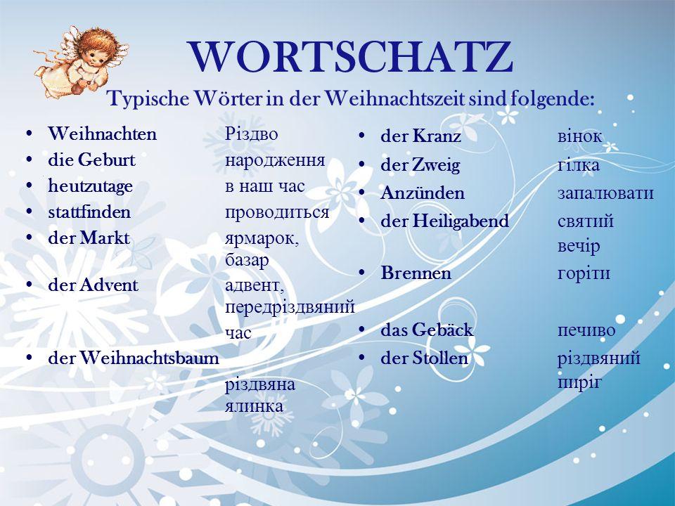 WEIHNACHTEN in Deutschland - ppt herunterladen