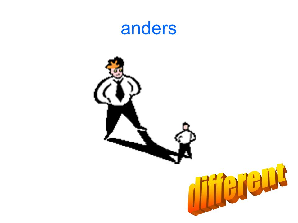 anders different