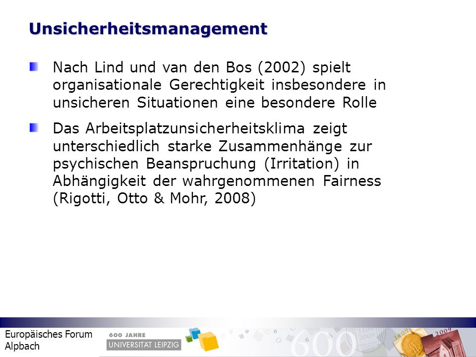 Unsicherheitsmanagement