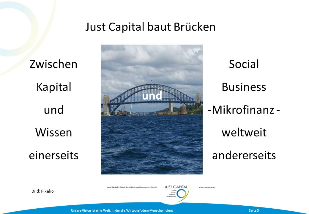 Just Capital baut Brücken