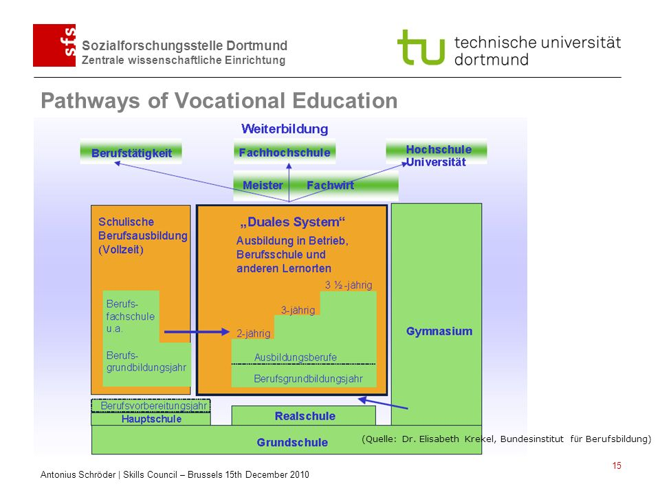 Pathways of Vocational Education