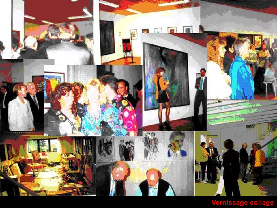 Vernissage collage