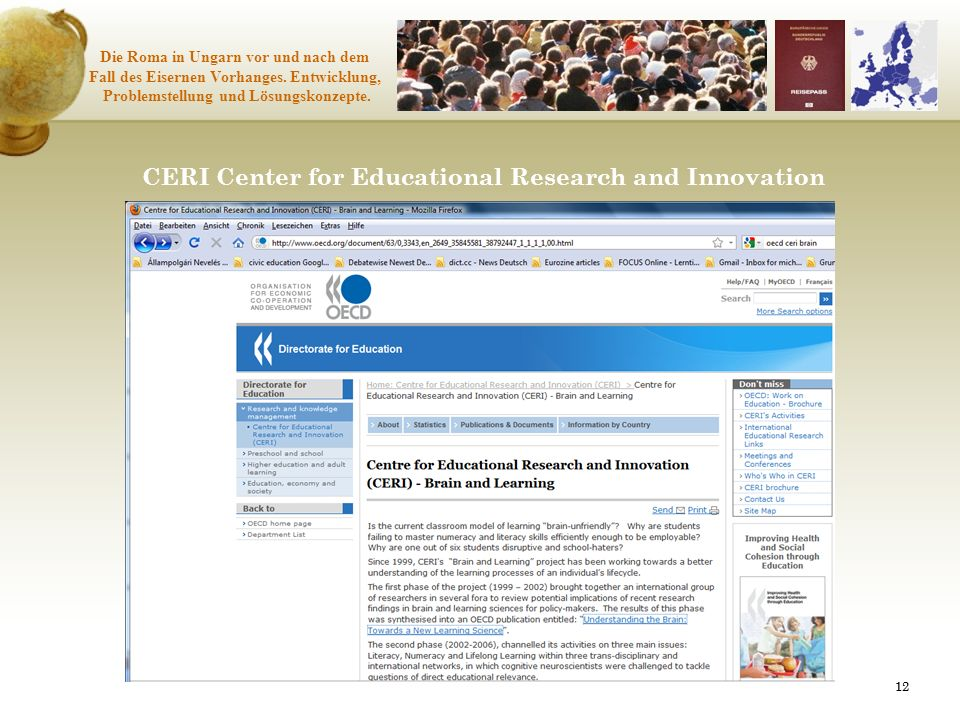 CERI Center for Educational Research and Innovation