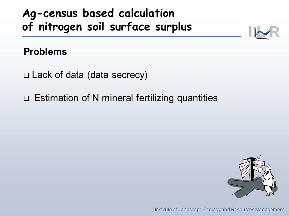 Ag-census based calculation of nitrogen soil surface surplus