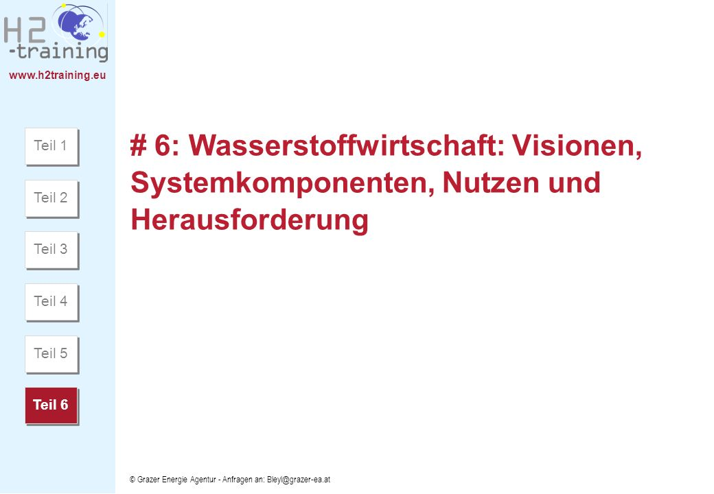 H2 Training Manual H2 Training Manual. H2 Training Manual. Teil 1.