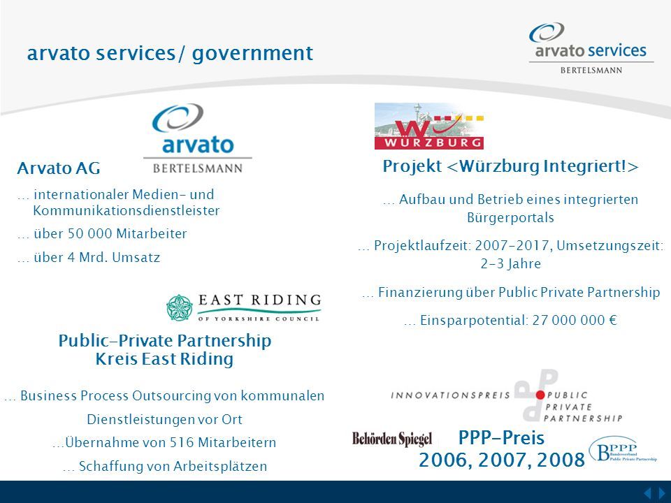 arvato services/ government