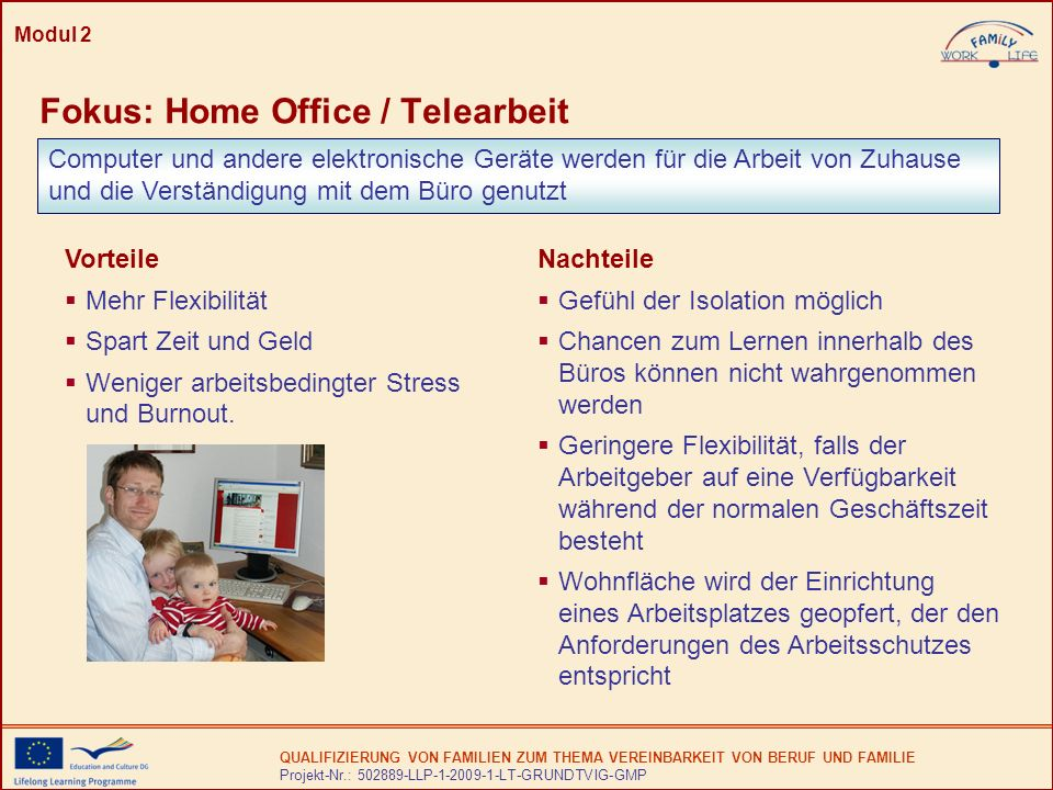 Fokus: Home Office / Telearbeit