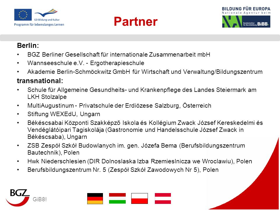 Partner Berlin: transnational: