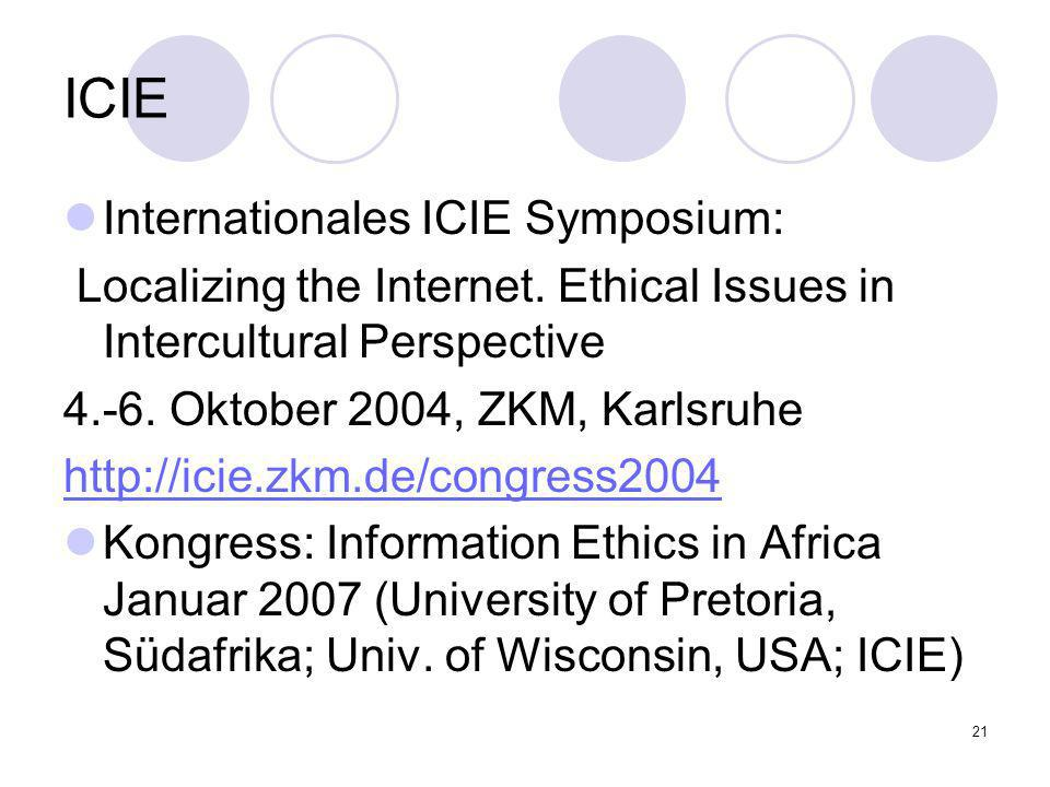 ICIE Internationales ICIE Symposium: