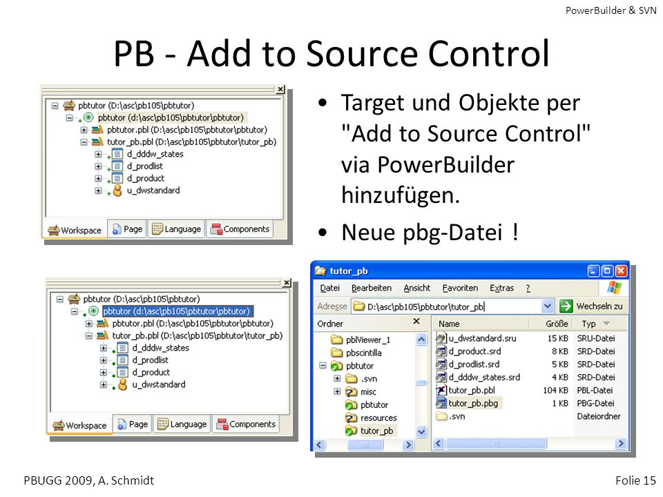 PB - Add to Source Control