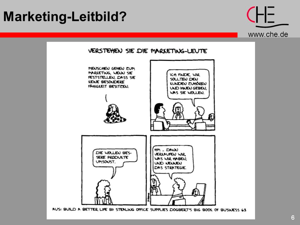 Marketing-Leitbild