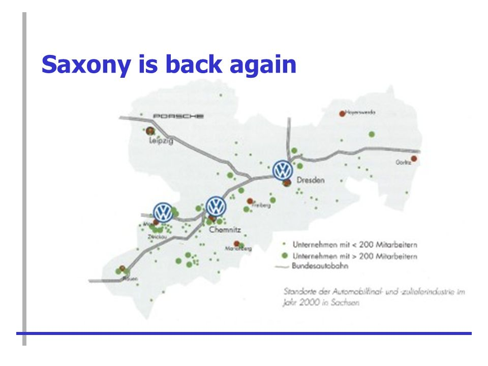 Saxony is back again