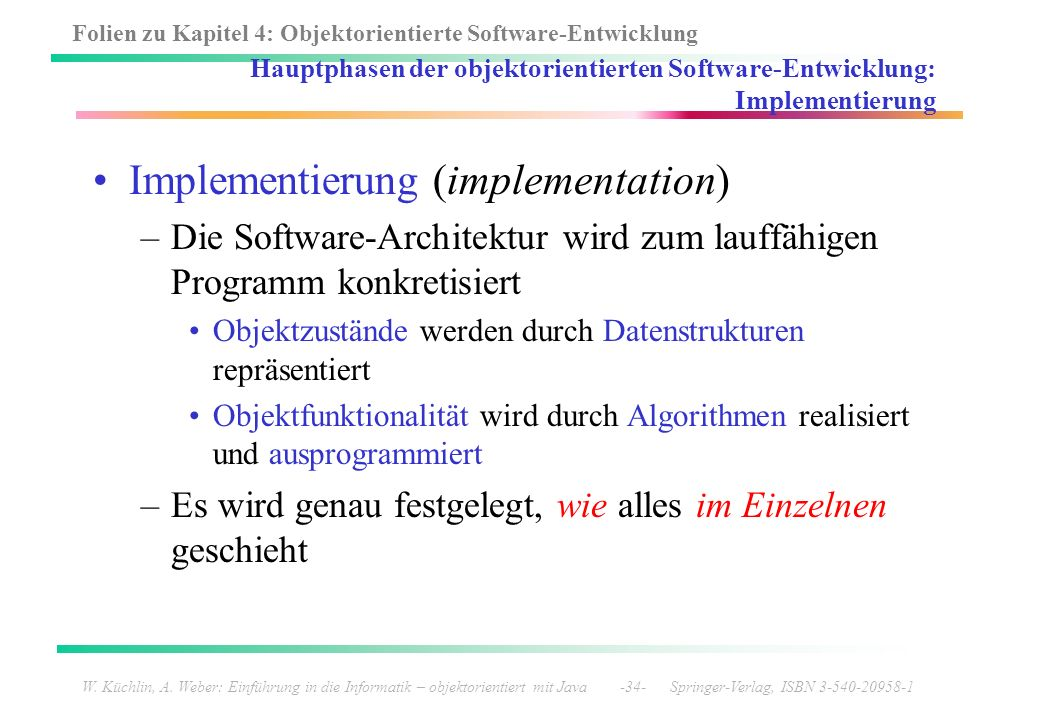 Implementierung (implementation)
