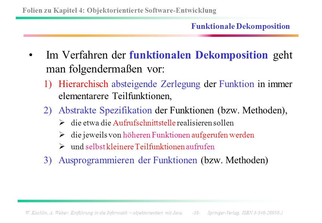 Funktionale Dekomposition