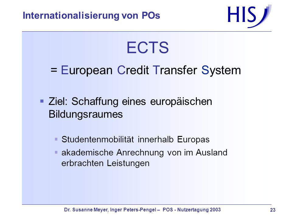 = European Credit Transfer System