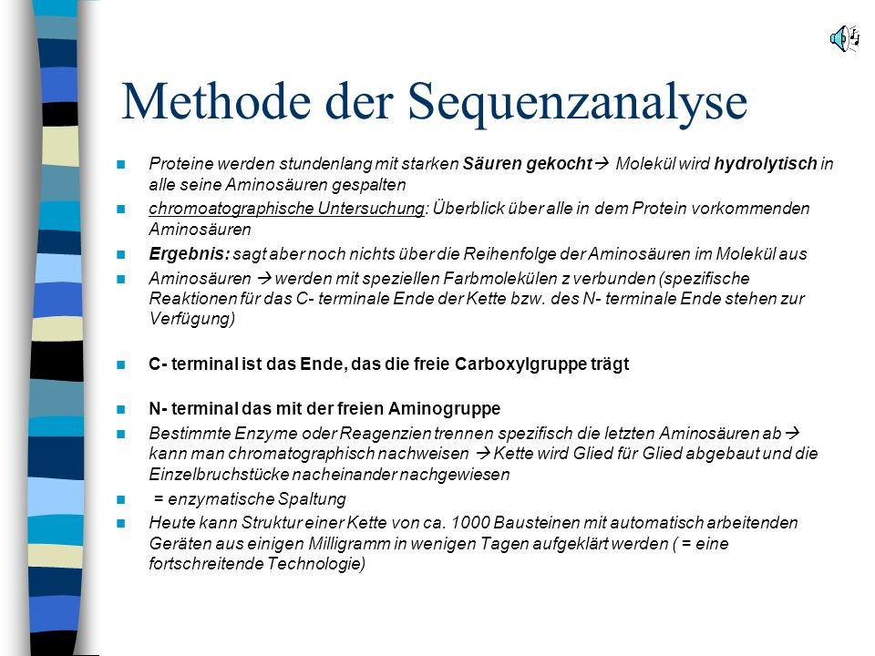 Methode der Sequenzanalyse
