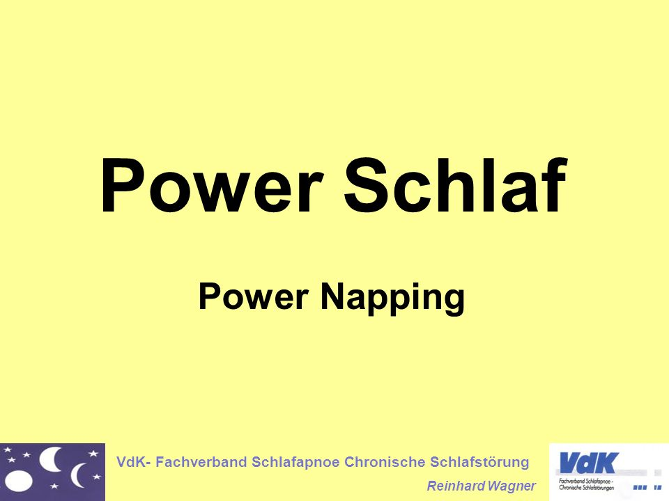 Power Schlaf Power Napping