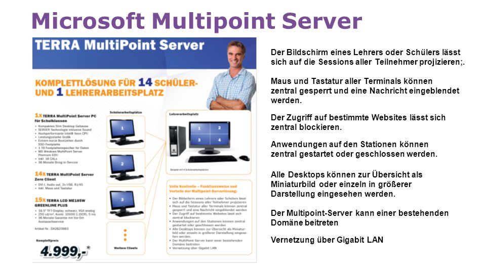Microsoft Multipoint Server