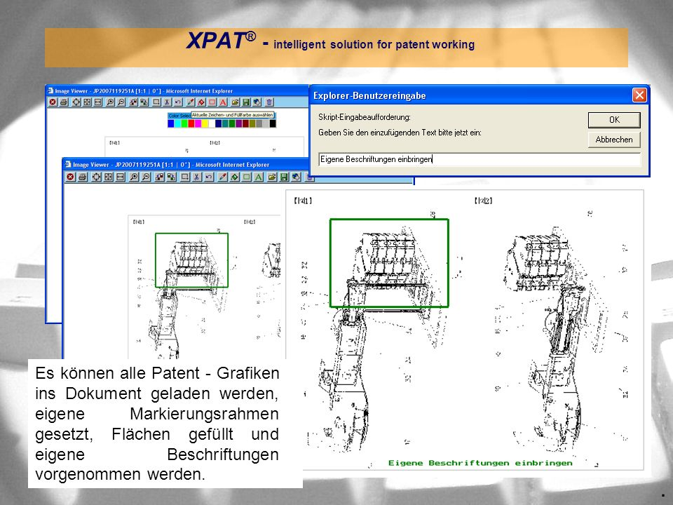XPAT® - intelligent solution for patent working