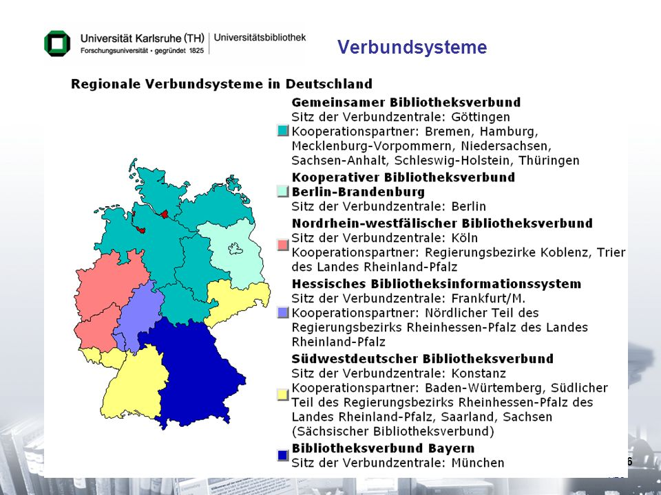 It is a meta search interface to library catalogs, which starts a simultaneous search in all German union catalogs plus several major libraries abroad such as the Library of Congress and gives you a standardized hit list. Because the Virtual Catalogue is an unique source of bibliographic information for document delivery and cataloging, it is very intensivly used also from outside the university.