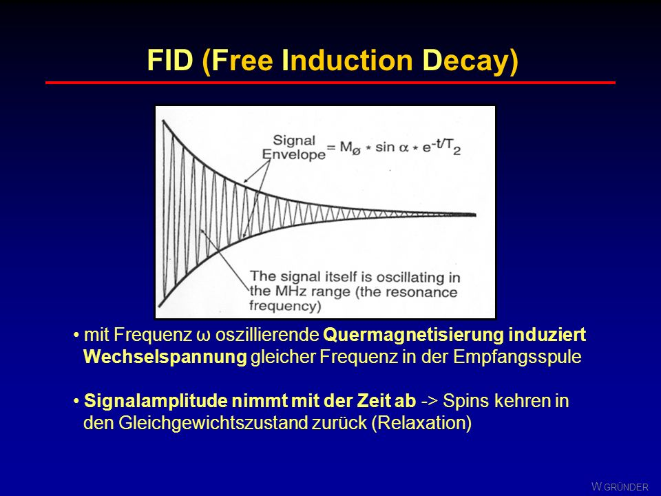 FID (Free Induction Decay)