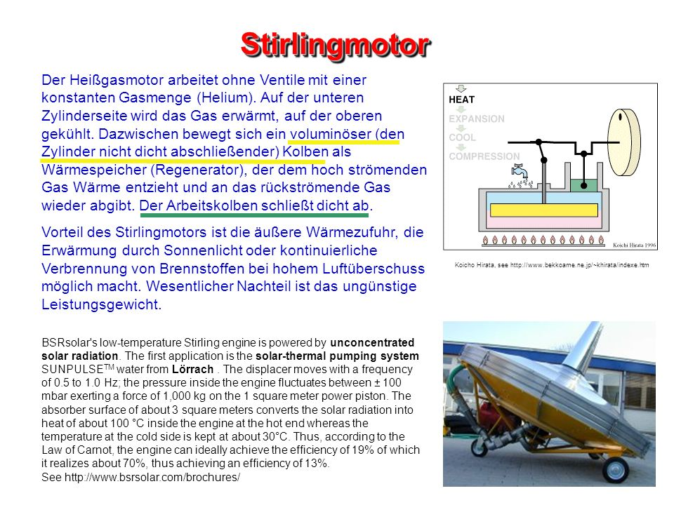 Stirlingmotor