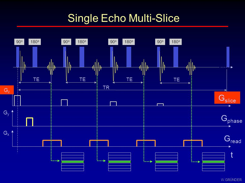 Single Echo Multi-Slice