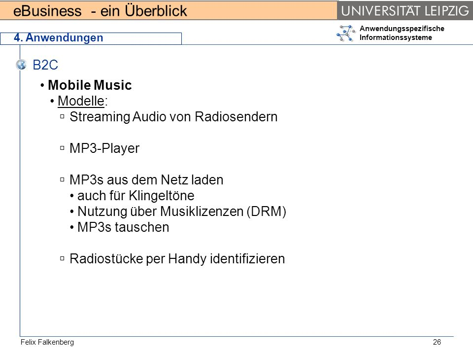 Streaming Audio von Radiosendern MP3-Player MP3s aus dem Netz laden