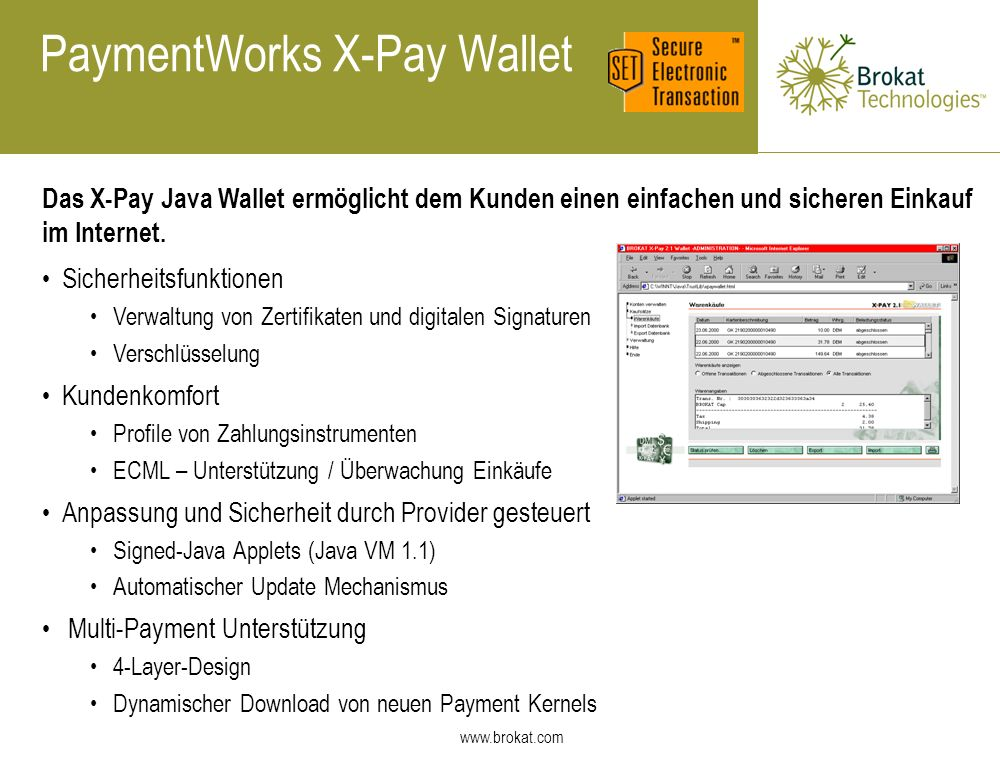 PaymentWorks X-Pay Wallet