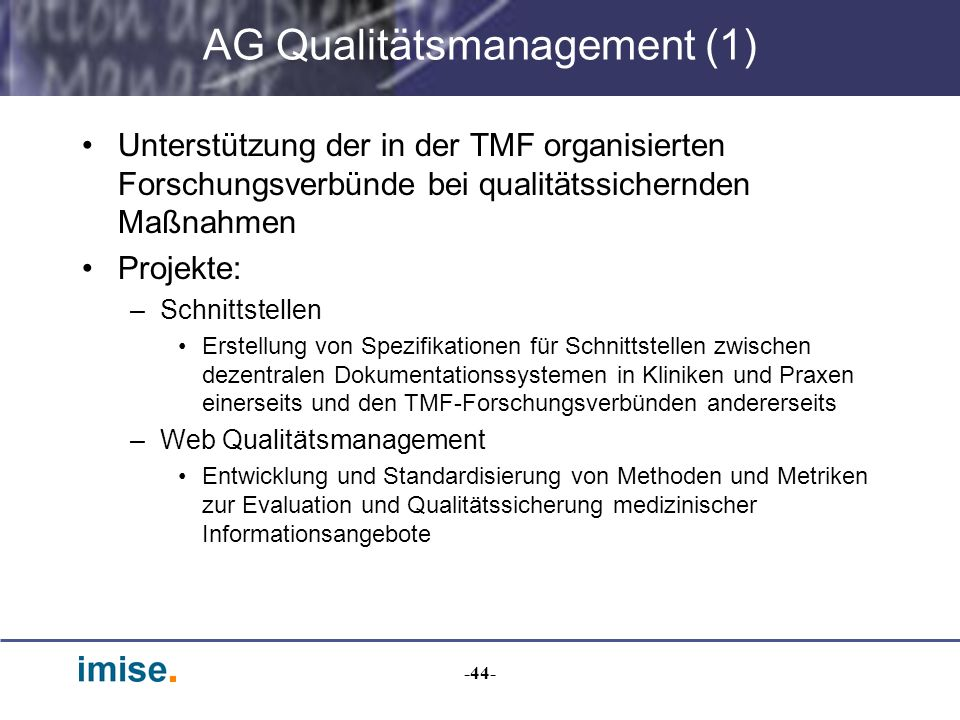 AG Qualitätsmanagement (1)
