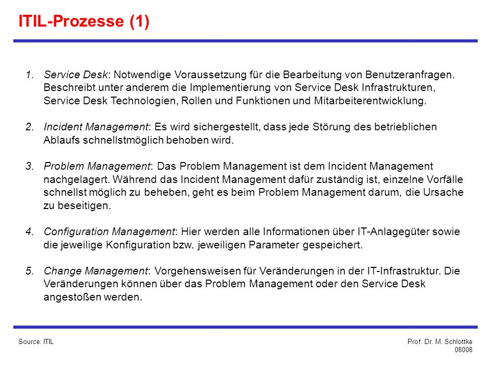 ITIL-Prozesse (1)