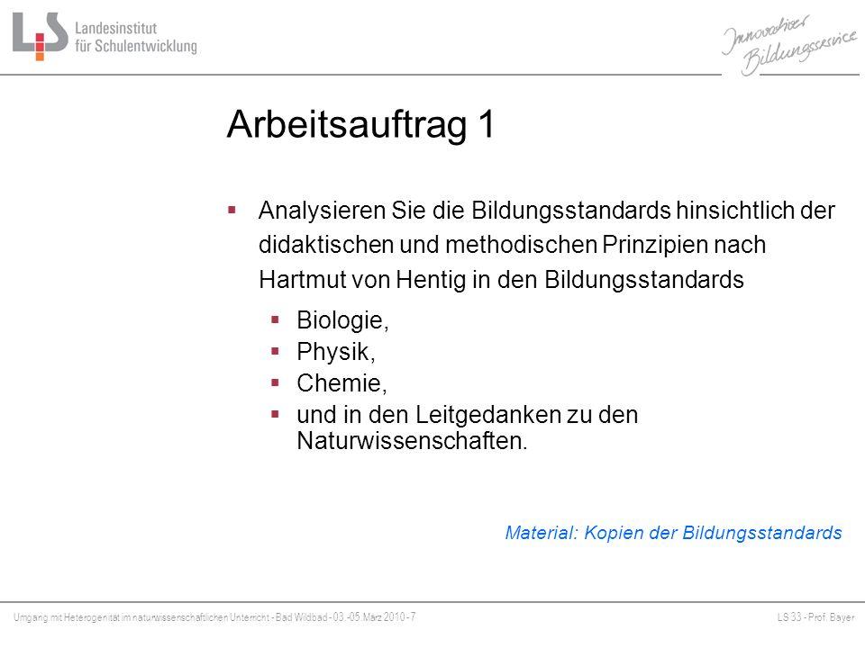Umgang mit Heterogenität im naturwissenschaftlichen Unterricht - ppt ...