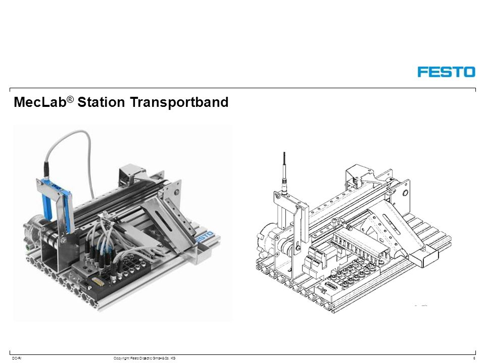 MecLab® Station Transportband