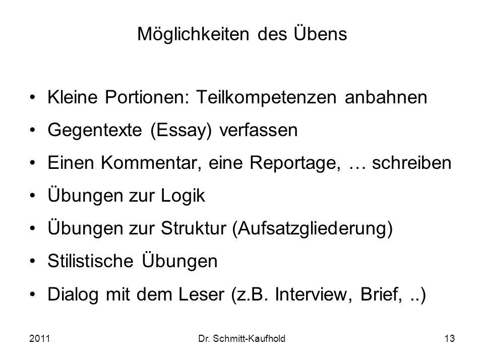 Ein beständiges Experimentieren: Der Essay - ppt video online ...