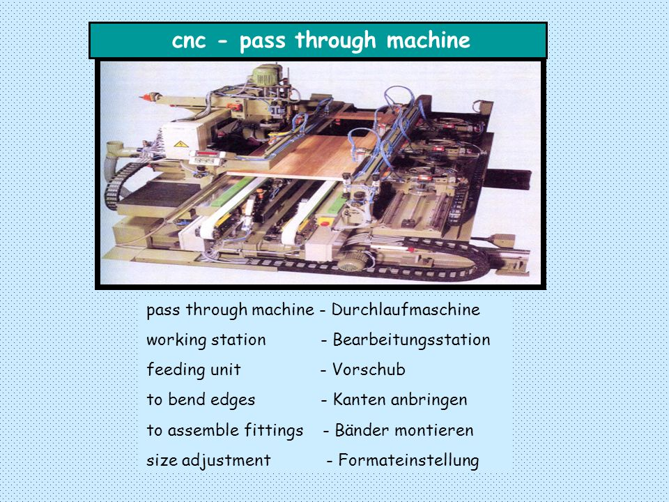cnc - pass through machine