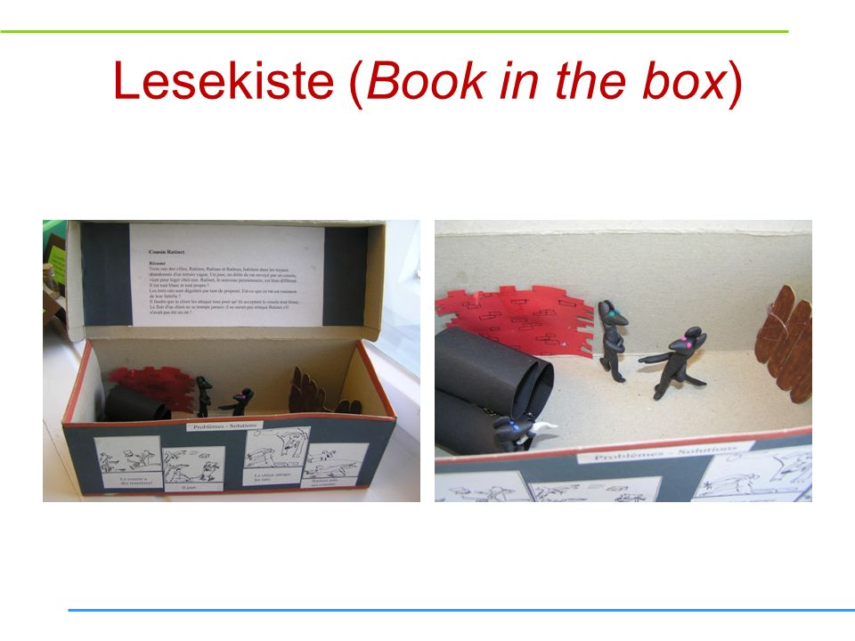 Lesekiste (Book in the box)