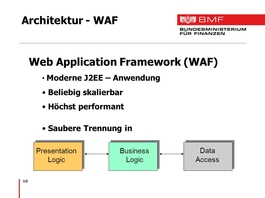 Web Application Framework (WAF)