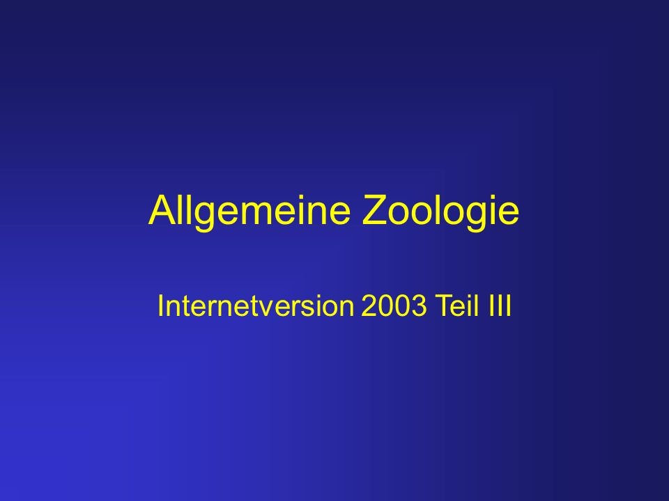 Internetversion 2003 Teil III