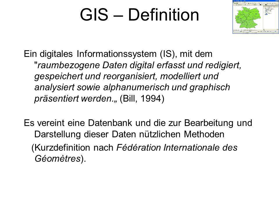GIS – Definition
