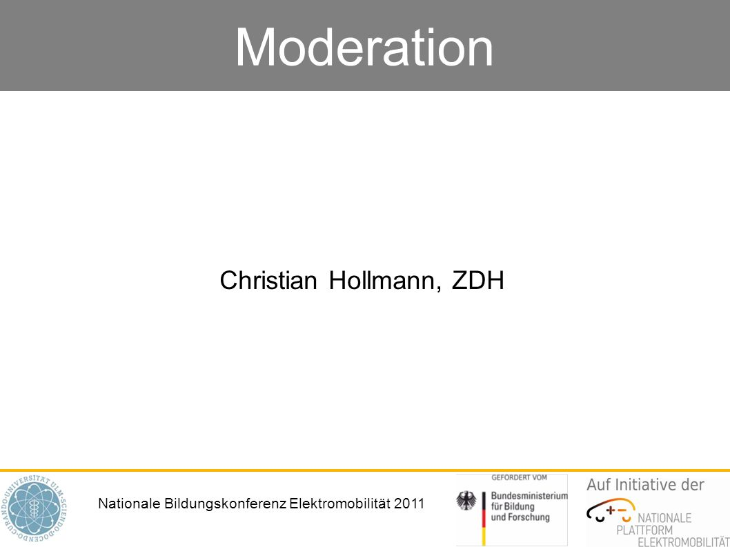 Christian Hollmann, ZDH
