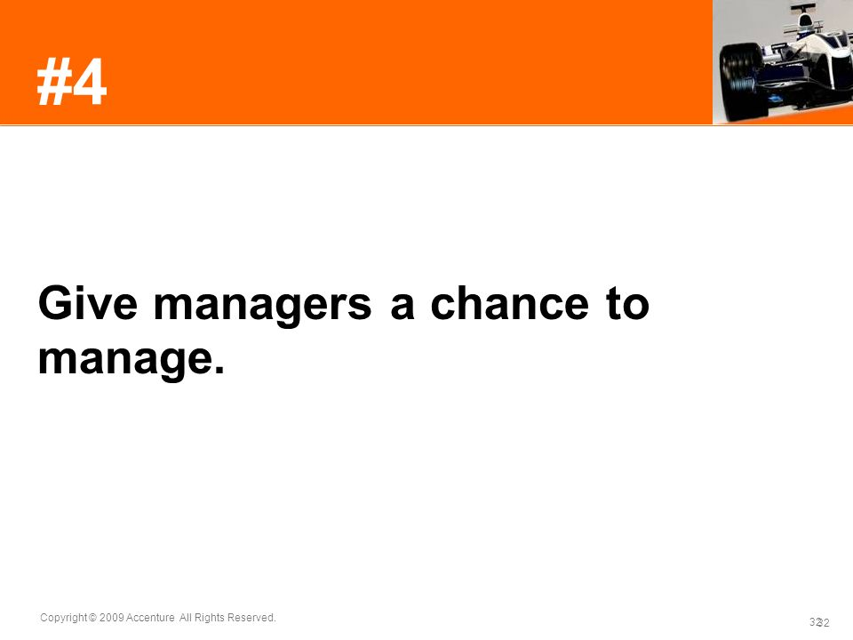 #4 Give managers a chance to manage.