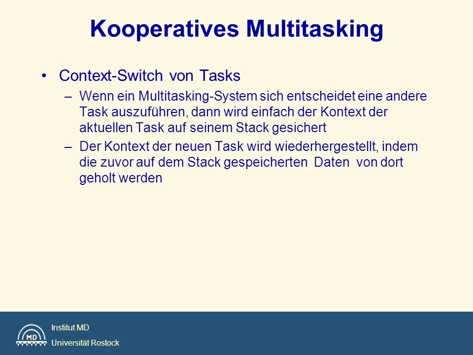 Kooperatives Multitasking