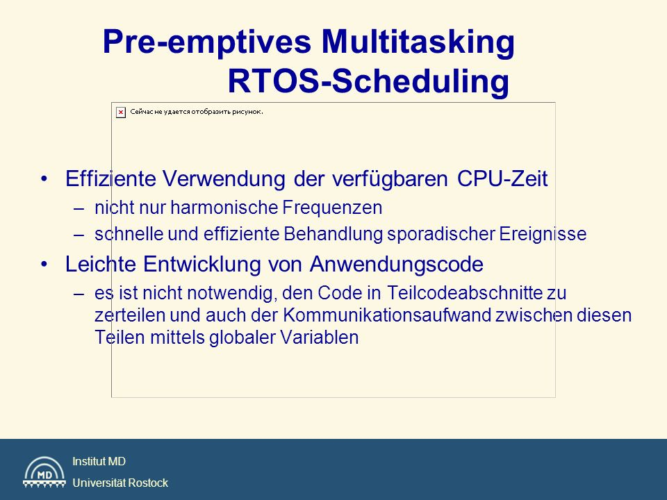 Pre-emptives Multitasking RTOS-Scheduling