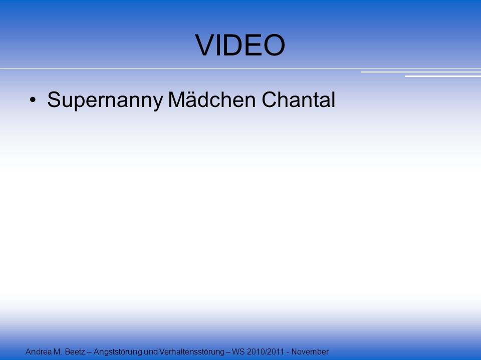 VIDEO Supernanny Mädchen Chantal