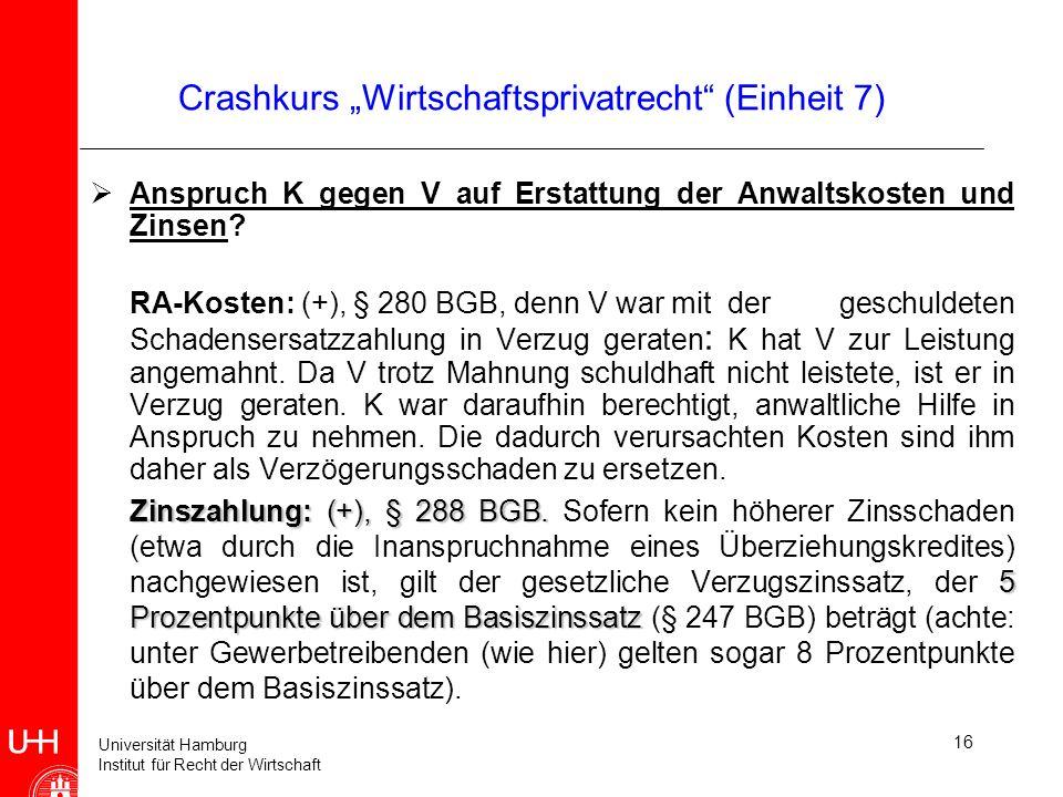 Crashkurs Wirtschaftsprivatrecht Ppt Herunterladen